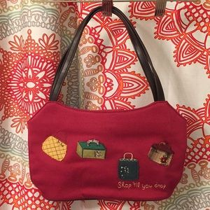 Forever by Fossil Christmas Hand Bag - Purse